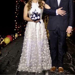 Two Piece Sherri Hill Prom Dress